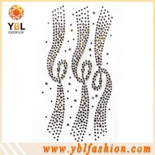 2015 Hot-sale ss10 Topaz Rhinestone Line for Shoes