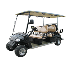 6 Seat electric hotel golf buggies modern golf car for sale