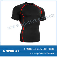 2014 New arrival blank compression shirts, youth compression shirts, High quality sport wear