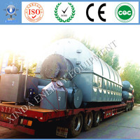 High Oil Yield Recycled Tyre Chip pyrolysis plant