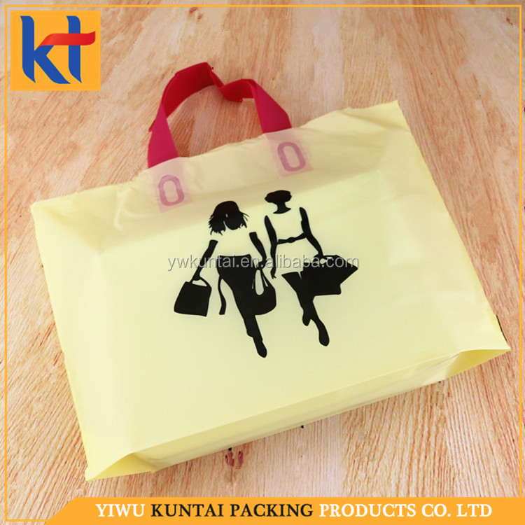Factory direct deal customized design alibaba supplier degradable plastic bag.shopping drawstring bag