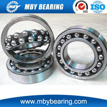 chrome steel double row self-aligning ball bearing swivel 1213