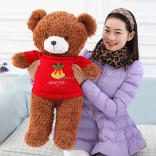 Best Christmas gift sublimation teddy bear with clothes