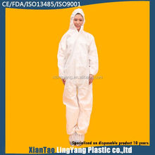 Microporous coverall disposable Type 5 Type 6