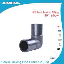 HDPE Butt Fusion Fittings Long Spigot 90 Degree Equal Elbow