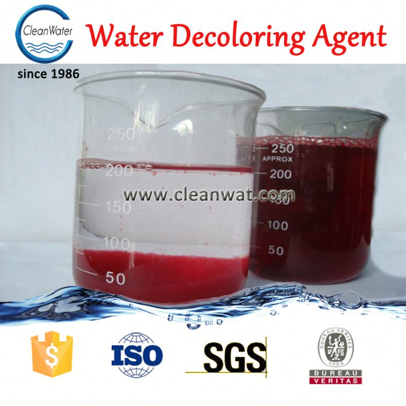Flocculant chemical agent of <strong>color</strong> <strong>removal</strong> CW-08 textile effluent decolorizing agent