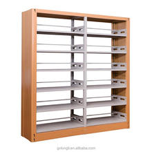 School Library Metal Bookcase / Wholesale Bookshelves / Metal Book Shelf for school library