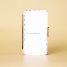 Manufacturer With magnetic buckle Blank Sublimation Flip case Leather Wallet Phone Case For Samsung Galaxy Fame S6818