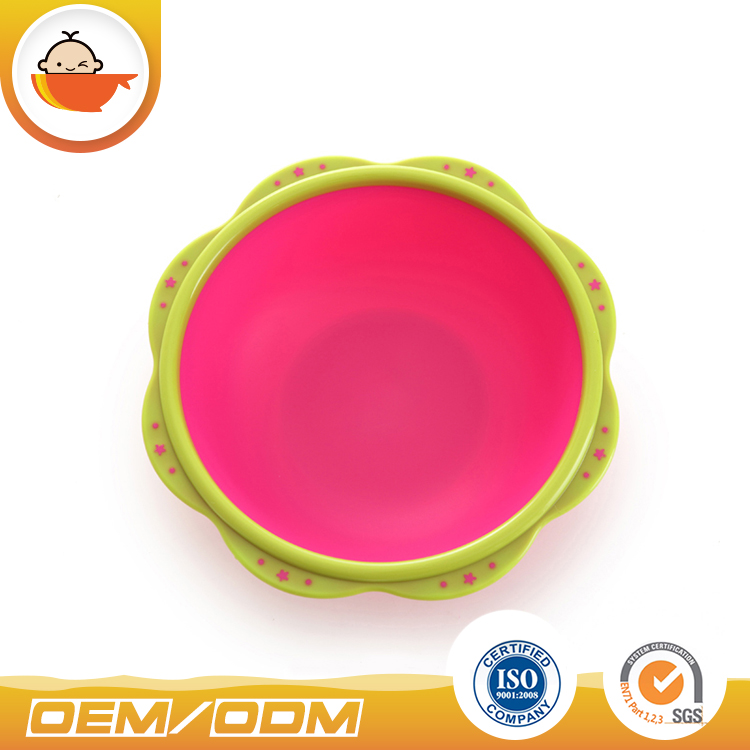 Colorful Small Petal plastic wash basin baby