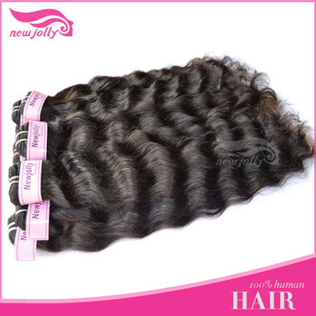 Wholesale high quality in stock 100% human hair extension