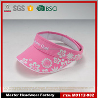 Stretch Sports Mesh Exterior sun visor with 3D Embroidery