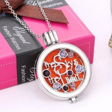 Fashion new oil diffuser <strong>necklace</strong> NS-16N01125