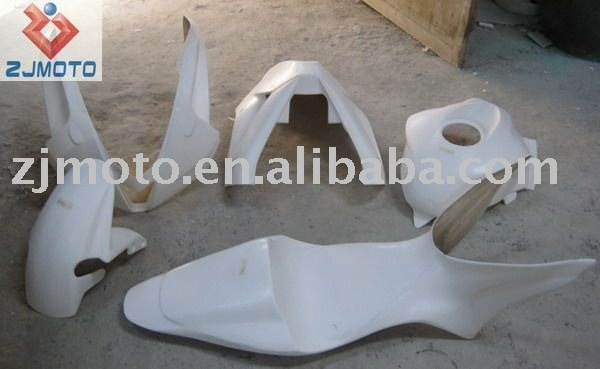 FRP Motorcycle Bodywork Fairing For CBR600RR 2007-2008 FRP Racing Fairing Body Kits Cover (HRH)
