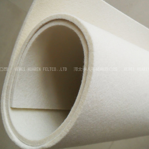 high quality 3mm 5mm 10mm natural wool felt