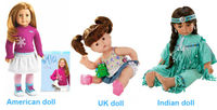 Movable Plastic Toy Doll For Kid