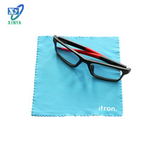 Custom printing microfiber cleaning cloth glasses