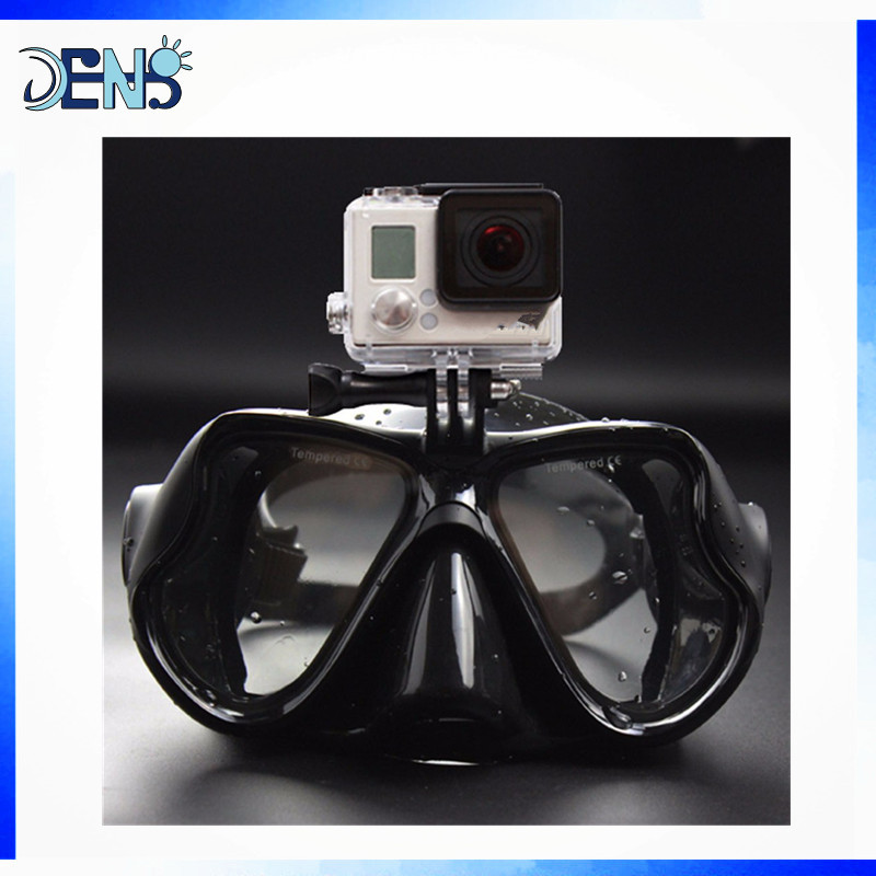 Underwater hunting Camera Diving Mask Scuba Snorkel Swimming Goggles for Go Pro Sports Camera