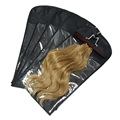 custom Low Moq 200-500pcs hair extension packaging wholesale bags