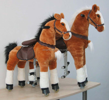 Hot promotion Plush Ride On Toys Horse