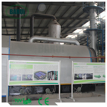 waste plastic pyrolysis machine recycling equipment with ISO/CE