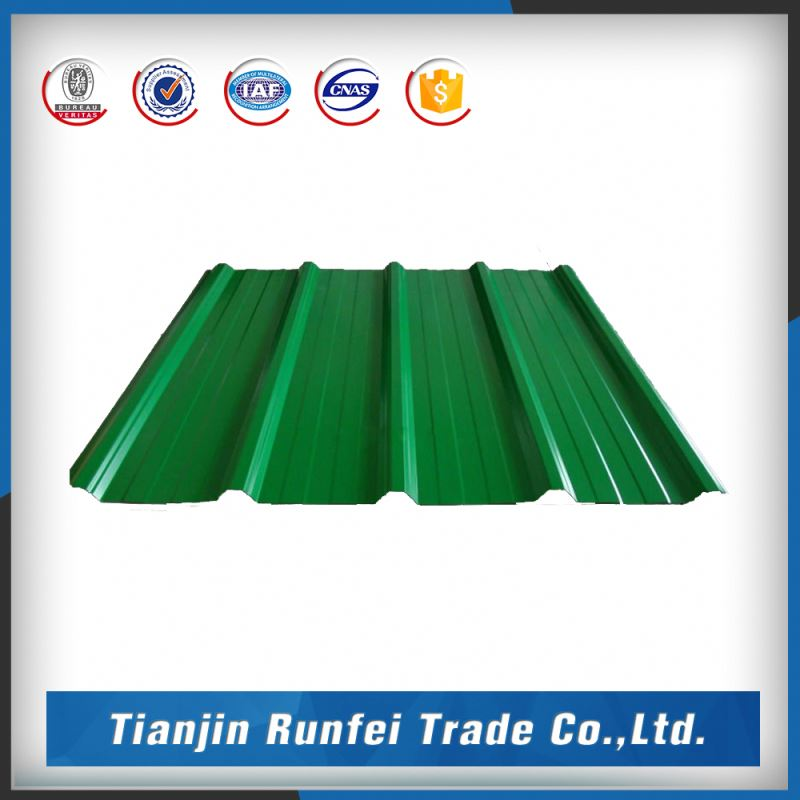 Bangladesh metal color coated corrugated roofing sheet