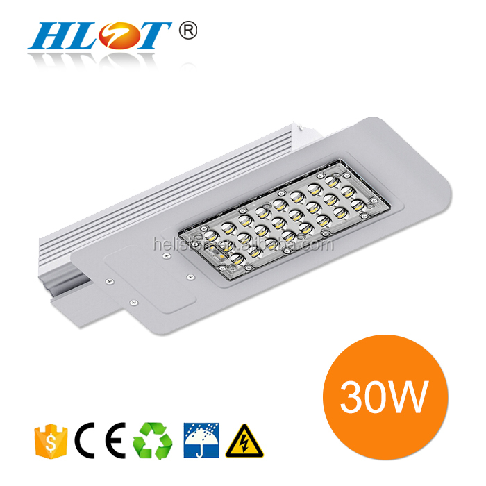 Garden use 30w 40w white Energy-saving led solar power street light