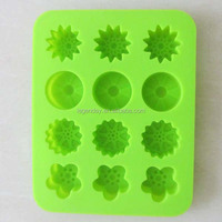Cute design custom silicone ice cube tray/personalized ice cube tray