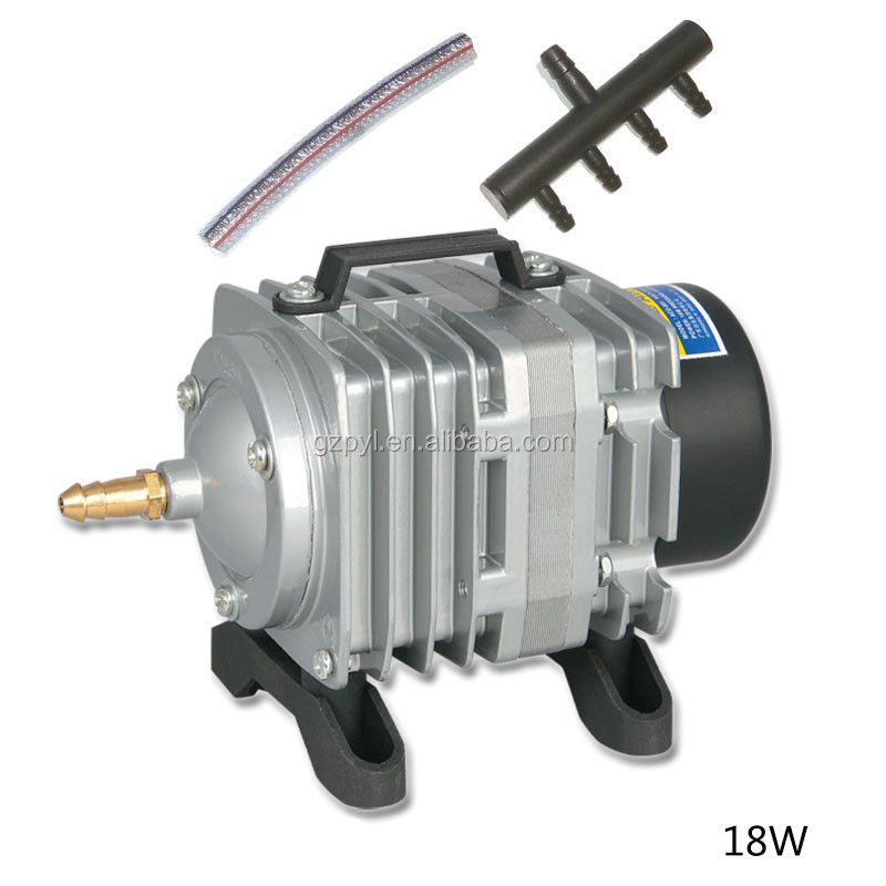 RESUN ACO-001 High Quality18W 38L/mini Aquarium Fish Tank Pond Electromagnetic Air Compressor Pump