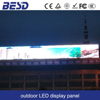 outdoor perimeter LED display screens with CE, ROHS