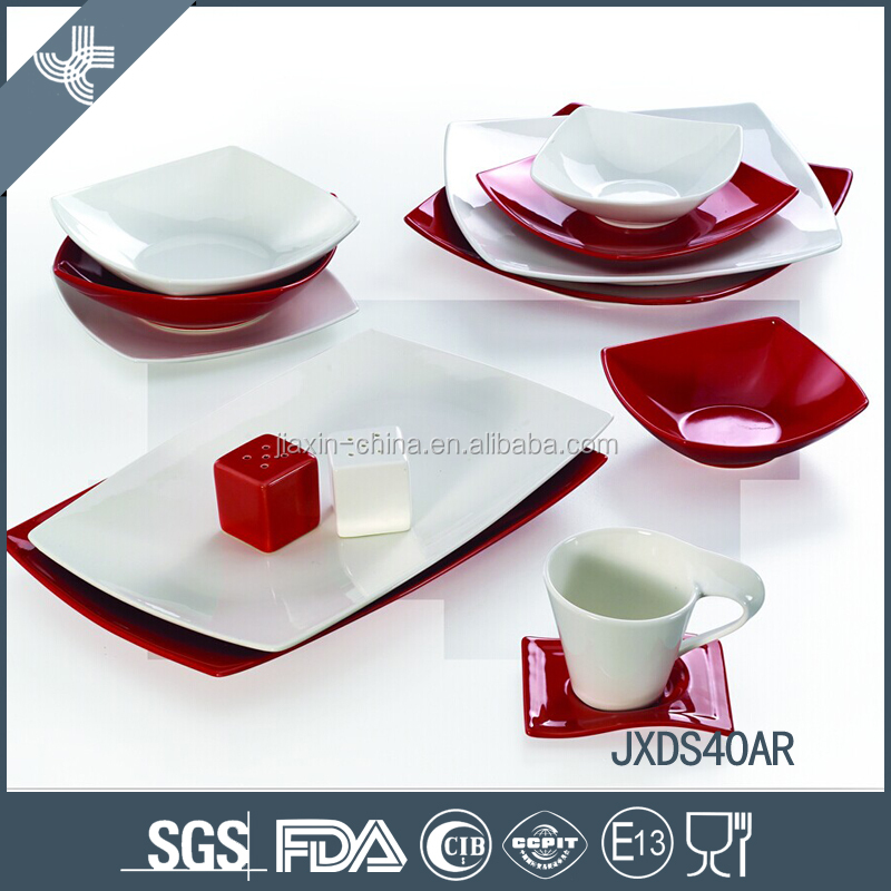 High quality germany style china stoneware dinner set dinnerware porcelain