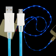 Best selling Fast connect Micro Charging Cable Colorfull USB Wire for ZTC mobile phone