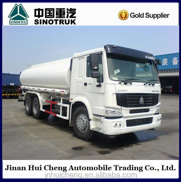 Sino Howo 6x4 diesel gas tanker truck on sale
