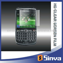 factory price tempered glass| auto recovery| anti glare | HD clear screen protector for blackberry bold torch 9860