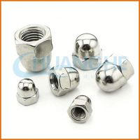 China Manufacture Supply high quality good price acorn dome head cap nuts
