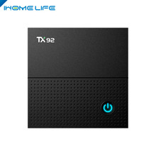 Christmas gift TX92 Amlogic S912 Octa core smart tv box DDR4 3GB RAM 32G ROM KD18.0 pre-installed Android 7.1 tv box TX92