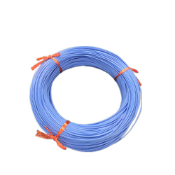 600V 200deg. C AGRP fiberglass braid silicone rubber insulation silver copper flexible wire and cable