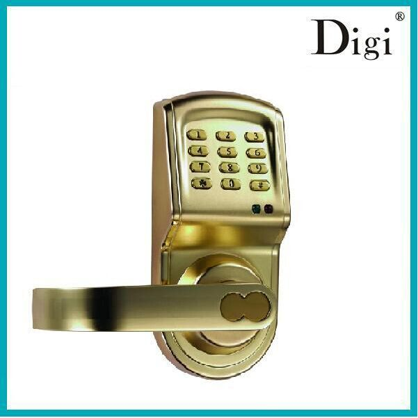 digital card keyless keypad security entry code door lock. Black Bedroom Furniture Sets. Home Design Ideas