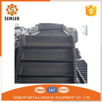 Nylon/Nn Canvas Ce Certfied Large Loading Capacity For Stones Plant Skirt/Sidewall Rubber Conveyor Belt With China Factory Price