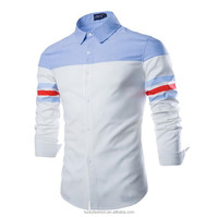 Trendy fit High quality office long sleeve shirt for men