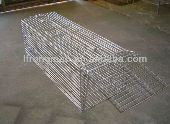 Animal trap/wire plant cage