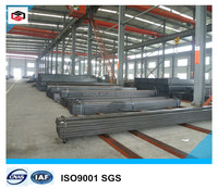 lowest price square hollow section/metal tubing/ms square tube steel pipes size