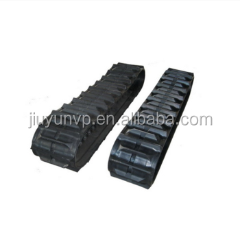 Chinese Supply high quality rubber track for lawn mower 300x109 Wide Rubber Track products