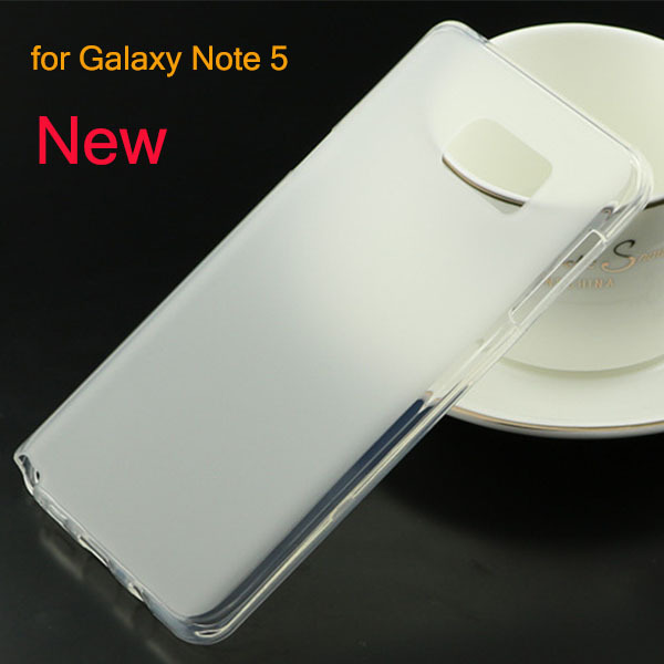Soft TPU Gel Silicone Matte Skin Funda Case Cover For Samsung Galaxy Note 5