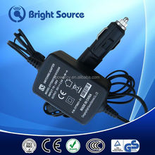 Convenient Used Cheap output 12v Car Cigarette Lighter Power Adapter 12v 1250ma AC/DC Power Supply
