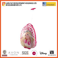 Quanzhou factory Barbie ABS trolley case rolling luggage
