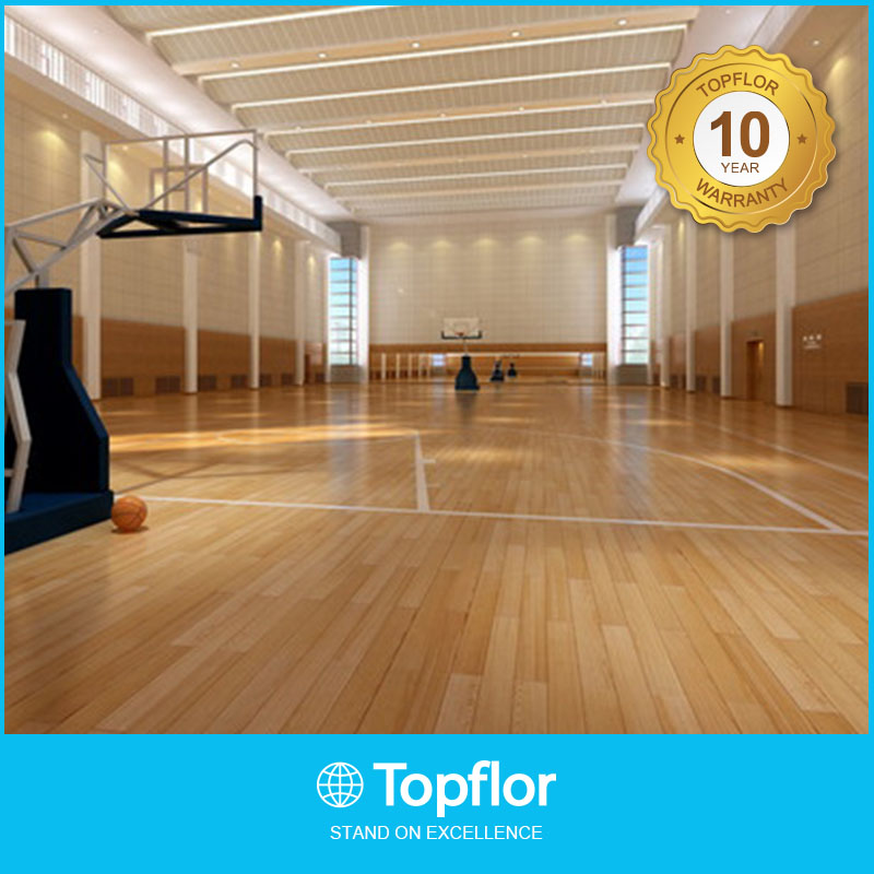 Wooden Sports Flooring For Indoor Court Used