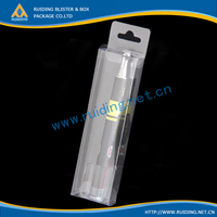 plastic cube cosmetic electronic packaging