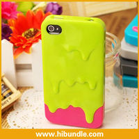 melt ice cream pc case for iphone 4s hard cover paypal is accepted
