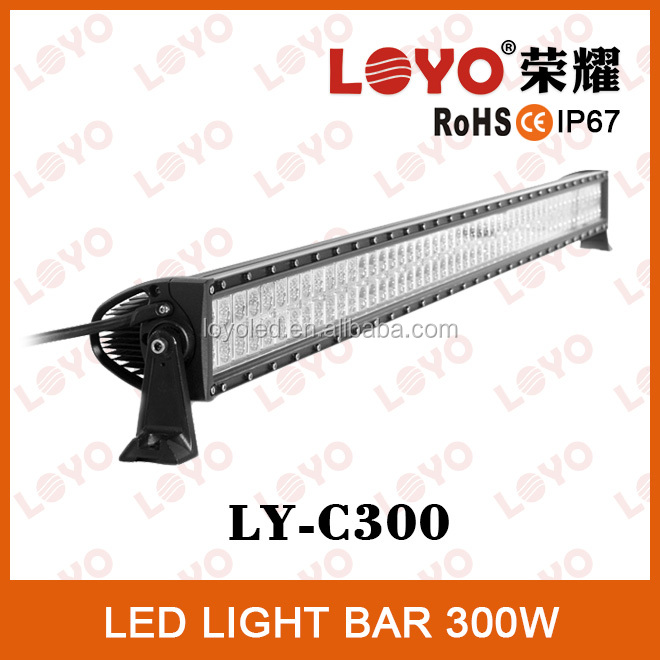 Cheap Auto Spare Parts 300W OFF Road LED Light Bar 52'' Inch LED Light Bar