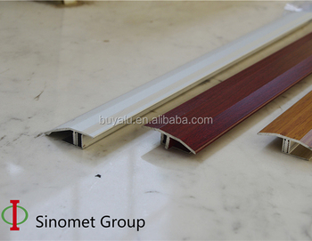 Aluminium edge tile trim floor trim transition profile with base for decoration